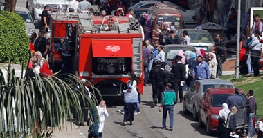 السيطرة على حريقين بحضانة أطفال وحديقة فى أكتوبر