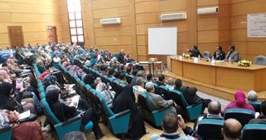 نائب رئيس جامعة طنطا: الاهتمام بالأمن الفكرى للمجتمع ضرورة للحفاظ على هويته