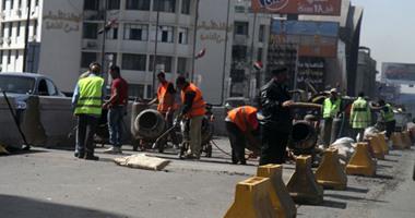 المرور: إغلاق جزئى لكوبرى أكتوبر بسبب أعمال إصلاح الفواصل لمدة 3 أيام
