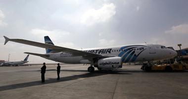 انتظام حركة الطيران بمطار القاهرة وفقا لجداول التشغيل
