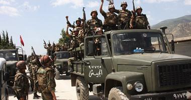مقتل 25 من تنظيم داعش خلال إنزال جوى للجيش السورى فى وسط البلاد