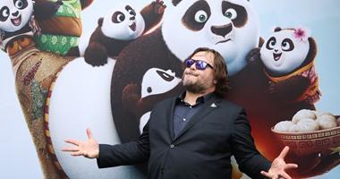 """بالصور..جاك بلاك وكيلى أوزبورن بالعرض الخاص لـ """"Kung Fu Panda 3""""فى سيدنى"""