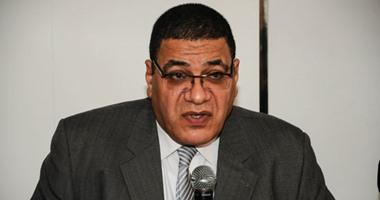 الدكتور هشام عبد الحميد رئيس قطاع الطب الشرعى