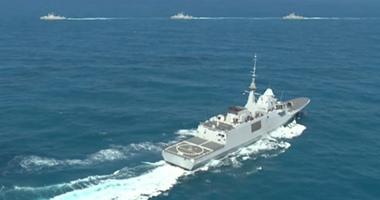 اليوم.. السيسى يشهد مناورة  ذات الصوارى 2017  بقاعدة الإسكندرية البحرية -