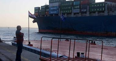 18سفينة إجمالى حركة موانئ شرق وغرب بورسعيد على مدار 24 ساعة