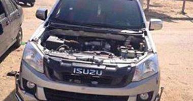القبض على عاطل أثناء قيادته سيارة مبلغ بسرقتها فى النزهة