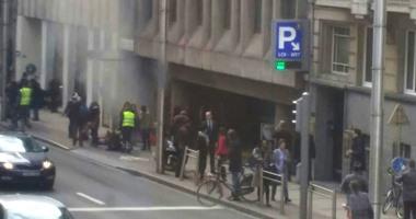 بالفيديو.. إخلاء محطة مترو بإندرلخت البلجيكية ببسبب حريق