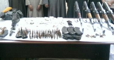سقوط تشكيل عصابى للاتجار في الأسلحة النارية الغير مرخصة بالقطامية