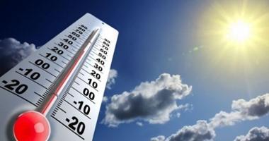 الأرصاد : ارتفاع مؤقت فى الحرارة غدا والعظمى بالقاهرة 41 درجة