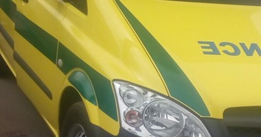 إصابة مجند فى انقلاب سيارة شرطة أعلى دائرى المريوطية