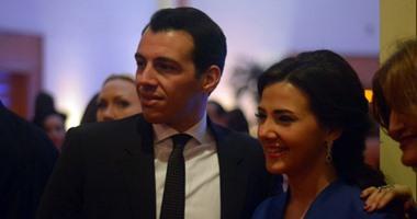 رامى رضوان يحتفل مع زوجته بعيد ميلاده على طريقته الخاصة