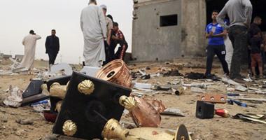 بالصور.. ارتفاع ضحايا تفجير انتحارى بملعب كرة قدم بالعراق لـ 41 قتيلا  اليوم السابع