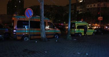"""إصابة 3 أشخاص فى انحراف سيارة ملاكى بطريق """"الغردقة - غارب"""""""