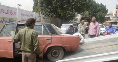 ضبط 12 سيارة ودراجة بخارية متروكة فى حملات مرورية بشوارع القاهرة