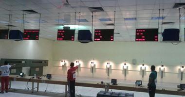 فراعنة الرماية يخوضون منافسات المسدس فى البطولة العربية بالإمارات