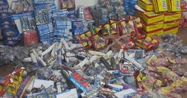 إحباط محاولة بائعين لترويج 5000 صاروخ ألعاب نارية بالجمالية