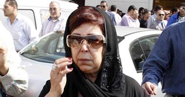 رجاء الجداوى تعود من بورسعيد بعد دفن زوجها وتتلقى العزاء غدا اليوم السابع