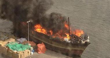 النيابة تطلب التحريات لكشف ملابسات حريق مركب نيلي فى الحوامدية