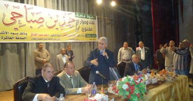 حمدين صباحى: الإخوان استخدموا أغلبيتهم