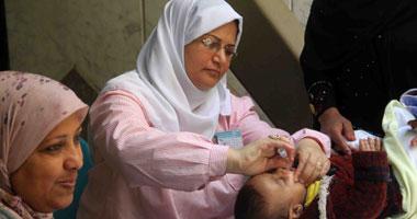 اليوم.. بدء الحملة القومية للتطعيم ضد شلل الأطفال