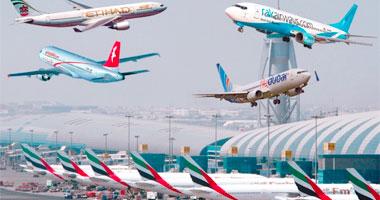 الإمارات تعلن عودة حركة الطيران بشكل طبيعى فى مطار دبى