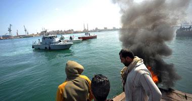 مصرع 3 أشخاص فى سقوط سيارة من معدية بنهر النيل فى أسيوط