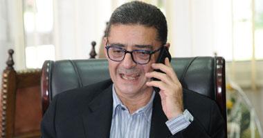 محمود طاهر رئيس النادى الأهلى يحذر من افلاس النادى الاهلى