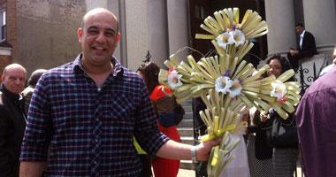 """بالصور.. احتفالات كنائس نيويورك بأعياد """"حد الزعف"""""""