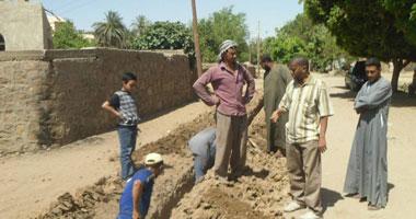 مياه الشرب بالمنيا: 480 ألف جنيه لتنفيذ خط تغذية قرية بطران