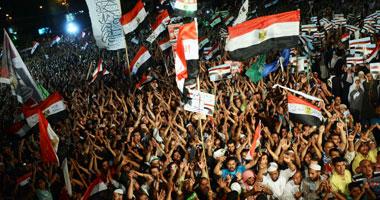 جانب من اعتصام رابعة العدوية