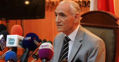المستشار عزت خميس رئيس لجنة حصر أموال الإخوان