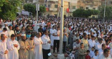صلاة العيد بميدان الممر