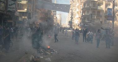 توقف حركة المرور فى عدد من شوارع المنصورة بسبب اشتباكات الجامعة