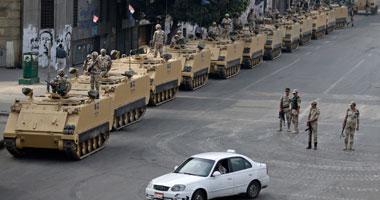 قوات الجيش تغلق شارع الطيران فى الاتجاه المؤدى إلى رابعة العدوية