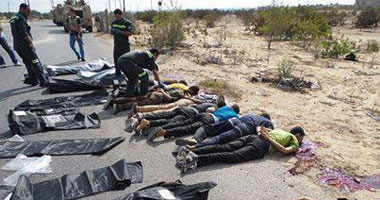 تفاصيل مقتل جنود الامن المركزى شهداء رفح امس 19/8/2013 بالصور