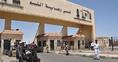 سفر وعودة 1488 مصريا وليبيا و 306 شاحنات عبر منفذ السلوم خلال24 ساعة