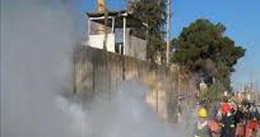 إلقاء عبوة ناسفة على مركز شرطة منطقة الصبرى ببنغازى