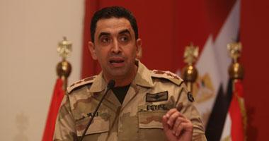 العقيد أركان حرب أحمد محمد على المتحدث العسكرى