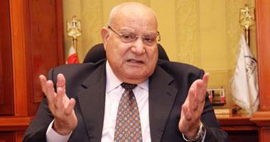 الدكتور إبراهيم الدميرى وزير النقل