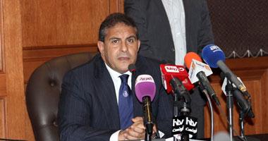 طاهر أبو زيد وزير الدولة لشئون الرياضة