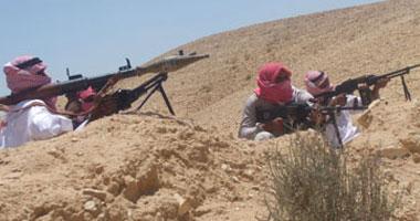 مسلحين فى سيناء ـ أرشيفية