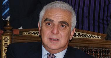 المهندس أمين أباظة وزير الزراعة واستصلاح الأراضى