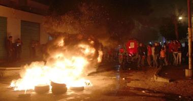 مجهولون يشعلون النار فى سيارتين تابعتين لمجلس مدينة بلبيس