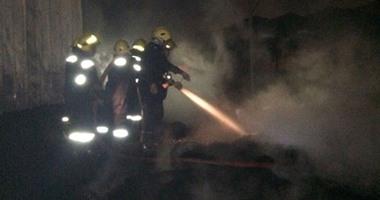 السيطرة على حريق داخل مخزن مراتب فى المرج دون إصابات