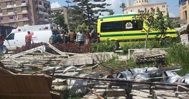 """مدرس: ضحايا انفجار استاد كفر الشيخ ليسوا شهداء.. و""""التعليم"""" تكتفى بنقله"""