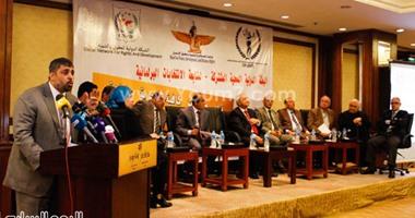 بالصور..رئيس حزب الإصلاح والتنمية: الإرهاب لم يكن سببا فى تأخر إجراء الانتخابات