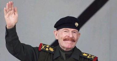 عزة إبراهيم الدورى نائب الرئيس العراقى الأسبق صدام حسين