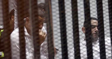 محاكمة متهمى بورسعيد - أرشيفية