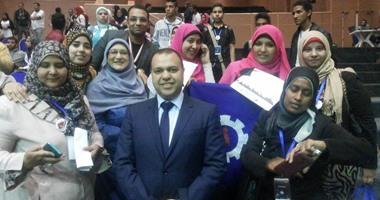 السويس الأولى بمعرض جامعة النيل وتمثل مصر فى إيطاليا يوليو المقبل