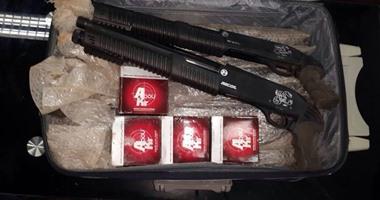 ضبط بندقيتى خرطوش و4 مطلوبين فى أحكام قضائية ببنى سويف